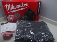 Milwaukee 2018 M12HJBL3-0 Heated Jacket (Brand new)