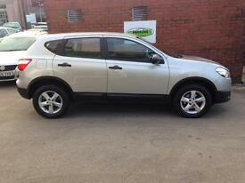 NISSAN QASHQAI 1.6 dCi Visia 5dr [Start Stop] (silver) 2012