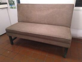 Quality sprung dining kitchen bench central London bargain