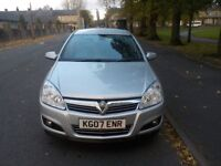 2007 Vauxhall Astra, 1.6 Petrol, Full Service History, HPI Clear, Warranted Mileage
