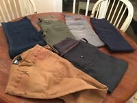 6 pairs of maternity trousers size 8/10