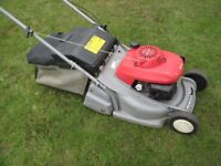 Honda HRB425C lawnmower for sale.