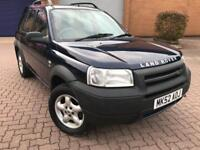 AUTOMATIC Land Rover Freelander 2002** Mot* Recently Fully Serviced*** LEATHER Interior**