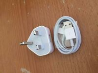 Genuine Charging Cable Charger Lead for Apple iPhone 4,4S,3GS,iPod,iPad2&1 UNOPENED