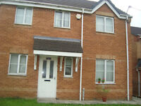 PARTLY FURNISHED SEMI DETACHED THREE(3) HOUSE AT RHINE DRIVE CHEETWOOD