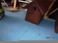 bird house 32mm hole £24.99 collection only NG7 3FF unit N a Boyd and son fencing