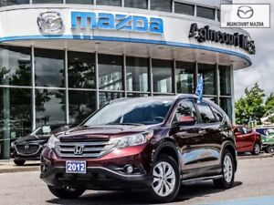 2012 Honda CR-V Touring-Navigation, Leather, Power Seat, Sunroof
