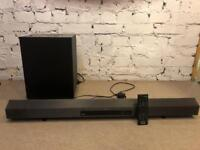 Sony CT260H Sound bar and sub