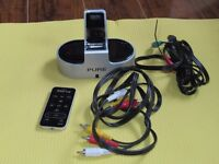 Pure IPOD / IPHONE dock with remote control