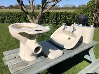 Armitage Shanks Cottage Toilet and Sink Set