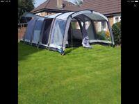 Kampa hayling 6 air tent and vestibule