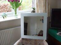 Bathroom mirror (480mm x 480mm)