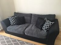 Two seater cord sofa for sale