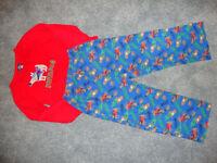 Boys fleece pyjamas