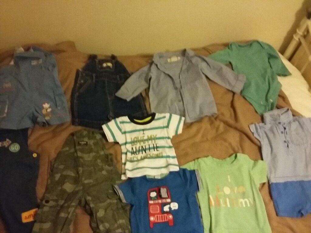 6-9 month boys clothes bundle