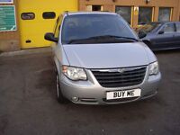 LHD LEFTHAND DRIVE CHRYSLER GRAND VOYAGER OCT 2007 2.8 DIESEL STOW&GO MODEL