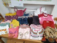 Girls bundle of clothes 4-6 years
