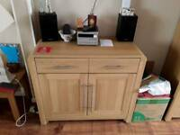 Elford fully assembled 2 door sideboard and coffee table,
