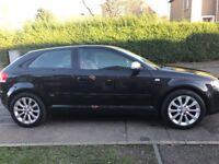 Audi A3 2.0tdi RED LEATHER