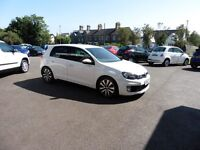 VW Golf GTD TDI (white) 2012