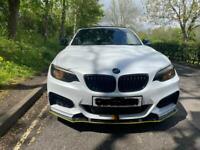 BMW 218i sport convertible M2 Exhaust