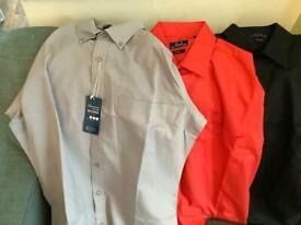 Various sizes men's new shirts