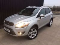 2008 (58) Ford Kuga 2.0 TDCi Zetec 4x4 5dr 2 Previous Owners 2 Keys 12 Months MOT Finance Available