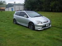 STUNNING MODDED HONDA CIVIC TYPE R EP3 REPLACEMENT LOW MILEAGE ENGINE FSH