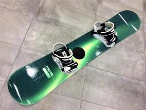 Snowboard Planche à neige RIDE 151cm + fixations Kemper   #F024571