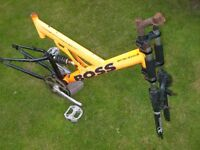 British Eagle Boss front and rear suspension mountain bike FRAME