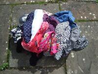 Ladies clothes BUNDLE XL tops shirts blouses jeans cargo pants..