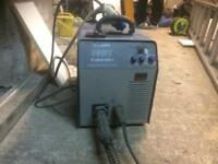 welding machine also a small hobby welding machine big grinder and small one dewalt chop saw 2 drill