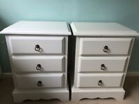 X2 solid wood bedside tables