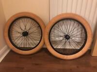 """20"""" BMX wheel set"""