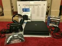 Sony Playatation 4 Pro With Extras