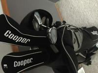 Never Used Cooper Premium 10 Club Golf Set
