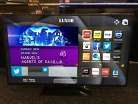LUXOR 50 inch Smart FULL HD 1080p LED TV, built in WiFi,Freeview HD