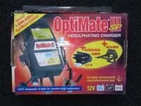 Optimate III SP battery charger/optimiser/desulphater.