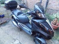 PIAGGIO MP3 300 YOURBAN LT, 2012 1 OWNER,BLACK, ONLY 8873 MILES, MOT, VVGC, FSH