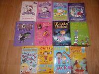 12 Girls Story Books inc Matilda, Hello Kitty