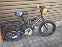 "16"" Inch Childs / Kids / Boys Bike - Orange & Black"