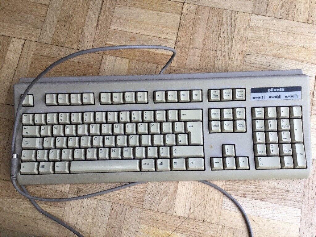 Computer keyboard - Vintage