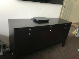 Sideboard tv stand with drawers