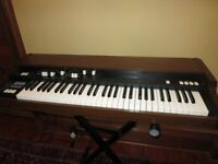 Korg CX3 Mk2 classic Hammond clonewheel keyboard for sale, with flightcase, and expression pedal