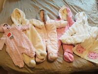 Baby girl clothes 0-3 3 -6 some 6-9