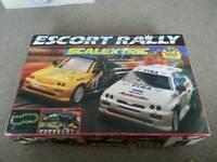 Escort rally scalextric