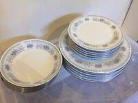 Crown Ming fine china dining set