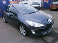 2007 PEUGEOT 308 1.6 HDI SPORT 5DOOR HATCHBACK,HPI CLEAR, FULL SERVICE HISTORY, CLEAN LIKE NEW