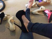 Various High heels worn size 4