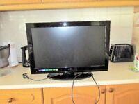 "26"" TV 1080 HDM1 DVD FREESTAT"